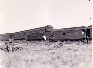 News of the wreck was suppressed. It is not known how many GIs lost their lives when this troop train derailed.