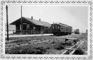 The Milwaukee Road depot at Hanford put an end to the era of river transportaion.